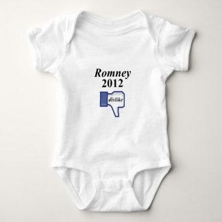 ROMNEY 2012 DISLIKE BABY BODYSUIT