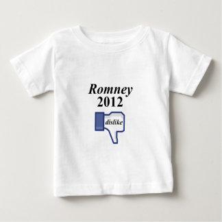 ROMNEY 2012 DISLIKE BABY T-Shirt