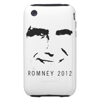 Romney 2012 Face iPhone 3 Tough Covers