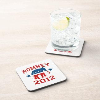 ROMNEY 2012 GOP MASCOT.png Drink Coaster