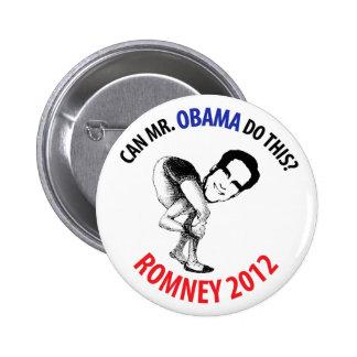 Romney 2012 Humor 2 Inch Round Button