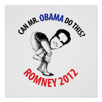 Romney 2012 Humor Posters