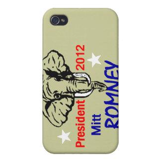 Romney 2012 iPhone 4/4S carcasa