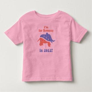 Romney 2012 Kids Ringer Shirt