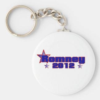Romney 2012 llavero redondo tipo pin
