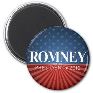 Romney 2012 2 inch round magnet