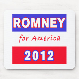 Romney 2012 mouse pad