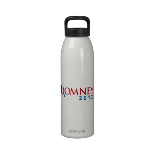 ROMNEY 2012 OFFICIAL PO.png Reusable Water Bottles