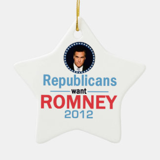 Romney 2012 Ornament