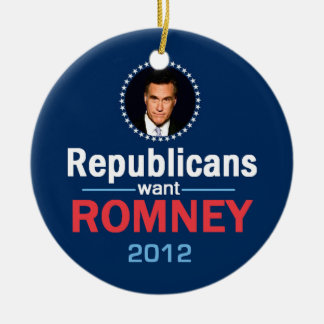 Romney 2012 Ornament