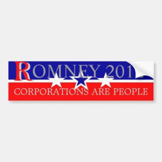 Romney 2012 pegatina para auto