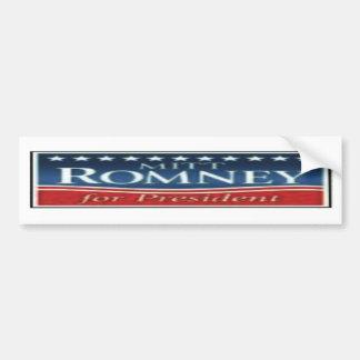 Romney 2012 pegatinas para el parachoques y engran pegatina para auto