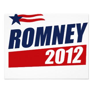 ROMNEY 2012 PERSONALIZED INVITATIONS