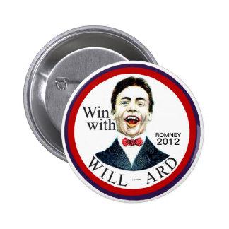 Romney 2012 pin