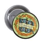 Romney 2012 pins