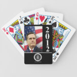 Romney 2012 playing cards