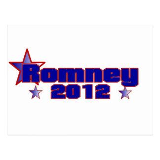 Romney 2012 postales