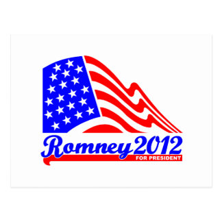 Romney 2012 post cards