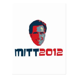 Romney 2012 postcard