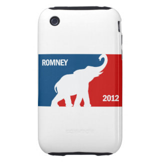 ROMNEY 2012 PRO TOUGH iPhone 3 COVERS