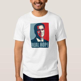 Romney 2012! Real Hope! T-shirt