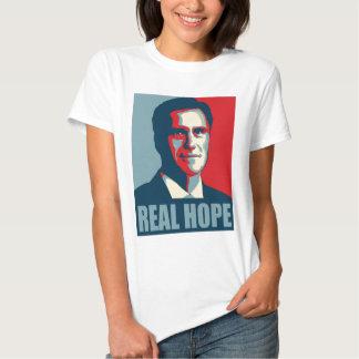 Romney 2012! Real Hope! T Shirt