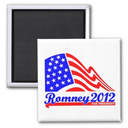 Romney 2012 refrigerator magnets