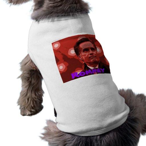 Romney 2012 ropa de mascota
