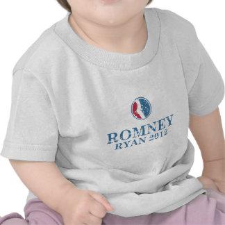 Romney 2012 Ryan Camisetas