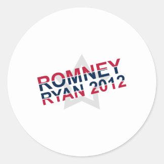 Romney 2012 Ryan Sticker