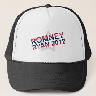Romney 2012 Ryan Trucker Hat