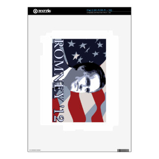Romney 2012 skin for the iPad 2