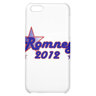 Romney 2012 Smooth Star Cover For iPhone 5C