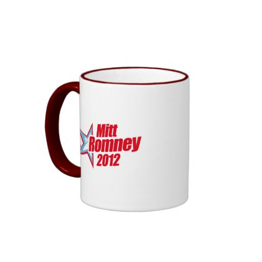 ROMNEY 2012 (Star Republican) Mugs