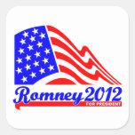 Romney 2012 stickers