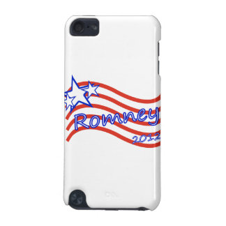 Romney 2012 Stripes With 3 Stars iPod Touch (5th Generation) Case