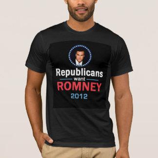Romney 2012 T-Shirt