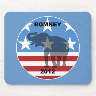 Romney 2012 tapetes de raton