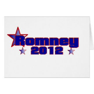 Romney 2012 tarjeta de felicitación