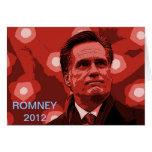 Romney 2012 tarjetas