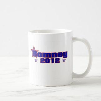 Romney 2012 taza de café