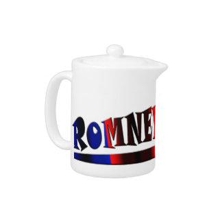 Romney 2012 teapot