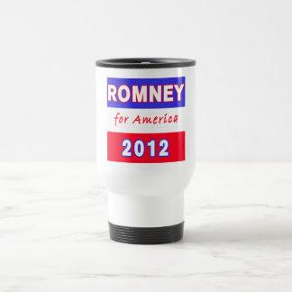 Romney 2012 travel mug