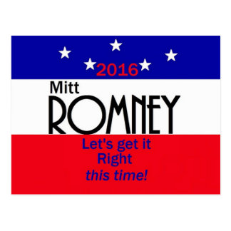 Romney 2016 post card