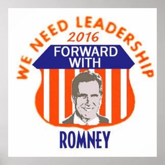 Romney 2016 Poster