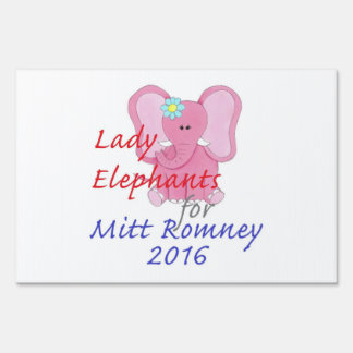 Romney 2016 yard sign