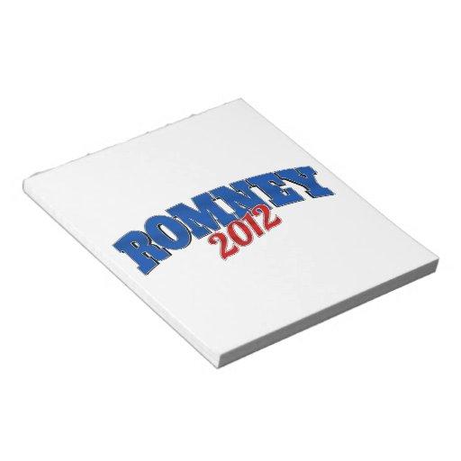 Romney 2102 memo note pad