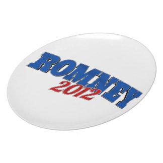 Romney 2102 plato de cena