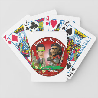 Romney and Che Obama Bicycle Playing Cards