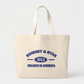Romney And Ryan 2012 Bag